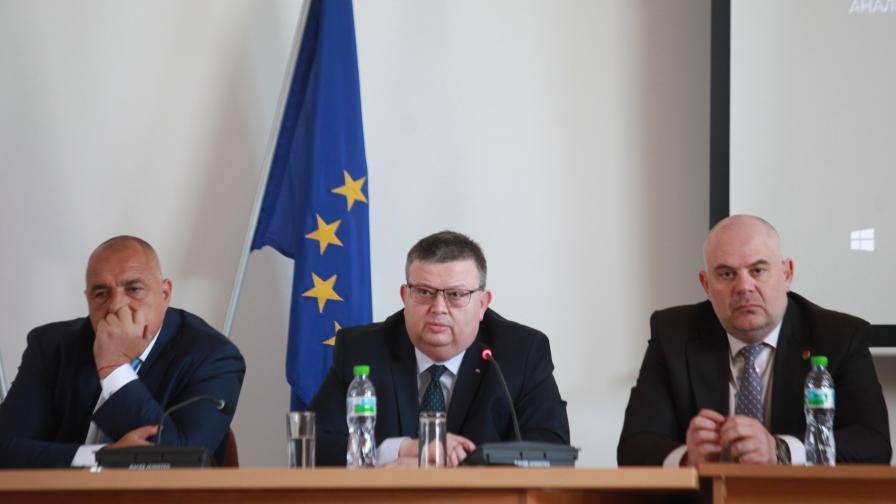 <p>Борисов за ало измамите, наркотиците и убийствата</p>