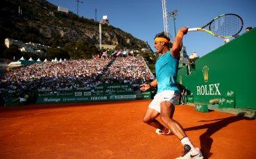 Надал допусна 5 пробива, но унищожителната му серия в Монте Карло продължава