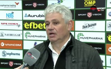 Стоев: Очаквах доста повече от Ботев Пловдив