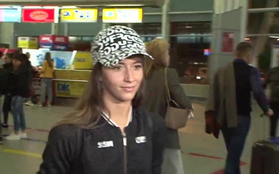 Капитанът на националния тим на България по художествена гимнастика (индивидуално)
