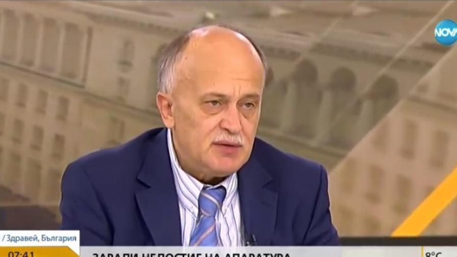Заместник-министърът на здравеопазването д-р Бойко Пенков