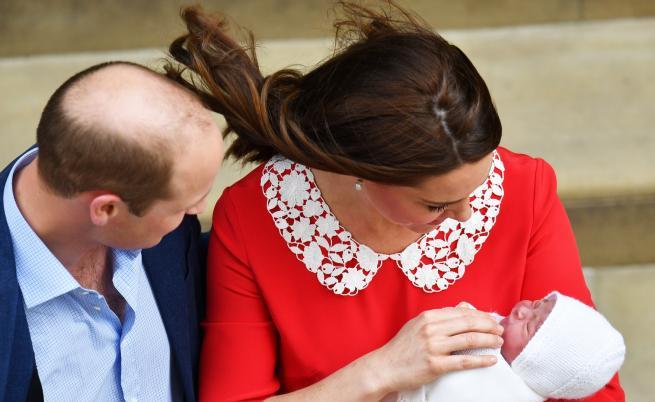 Нови сладки снимки на принц Луи, който става на 1 годинка