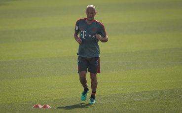 Треньорът на Байерн: Робен е оптимист за завръщането си