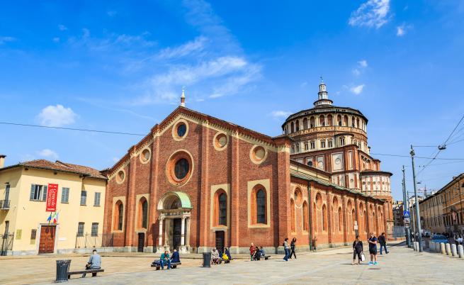 Манастира Санта Мария деле Грацие в Милано