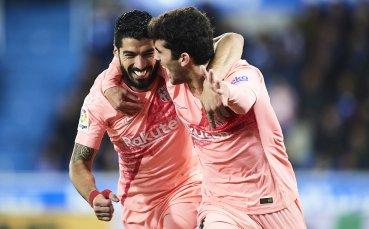 Барселона може да стане шампион без игра