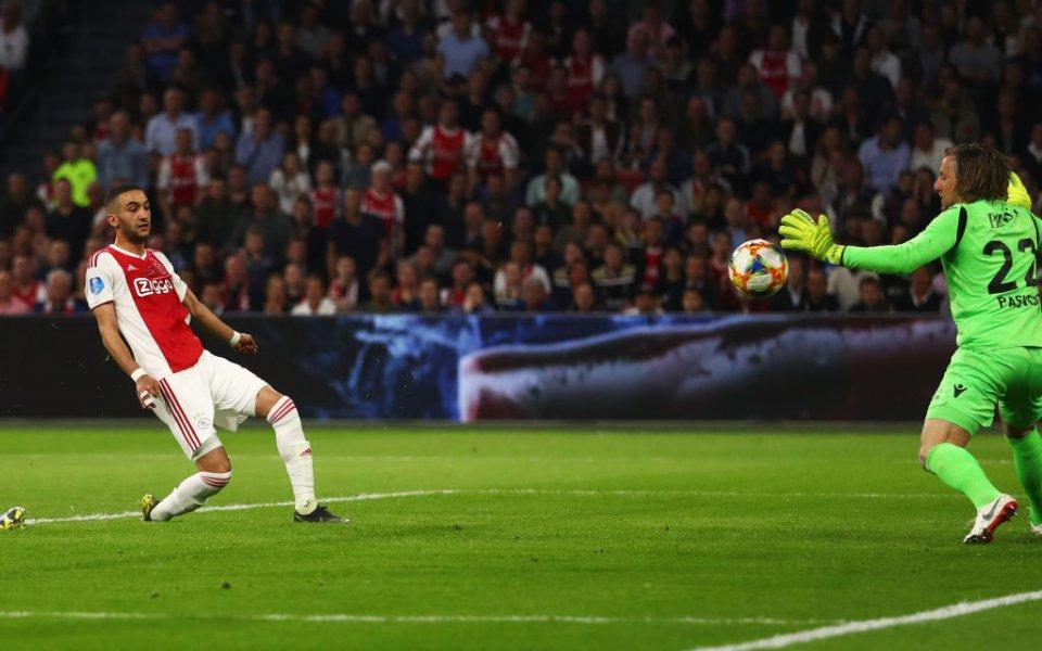 Аякс записа рекорд със 160-ия си гол