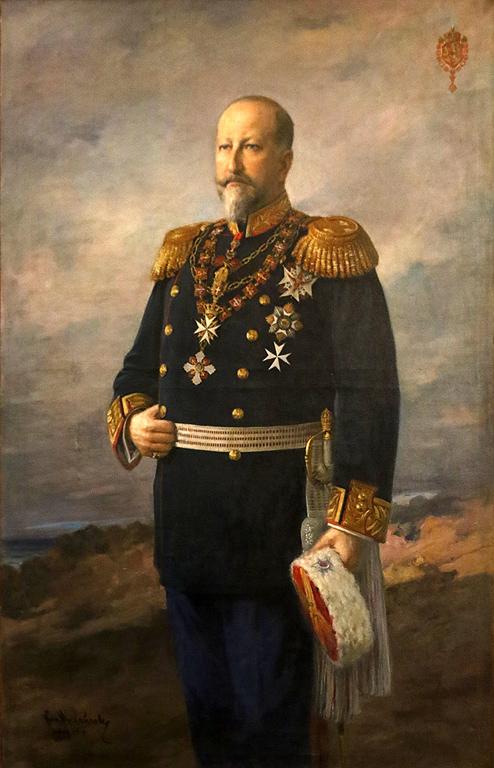 Никола Михайлов Портрет на на Цар Фердинанд, 1914г.