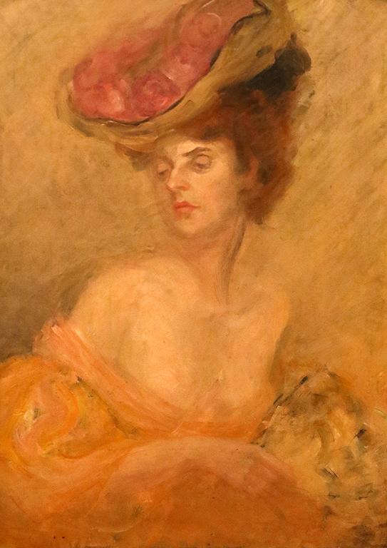 Анета Ходина Портрет на графиня Л. от Версай 1906г.