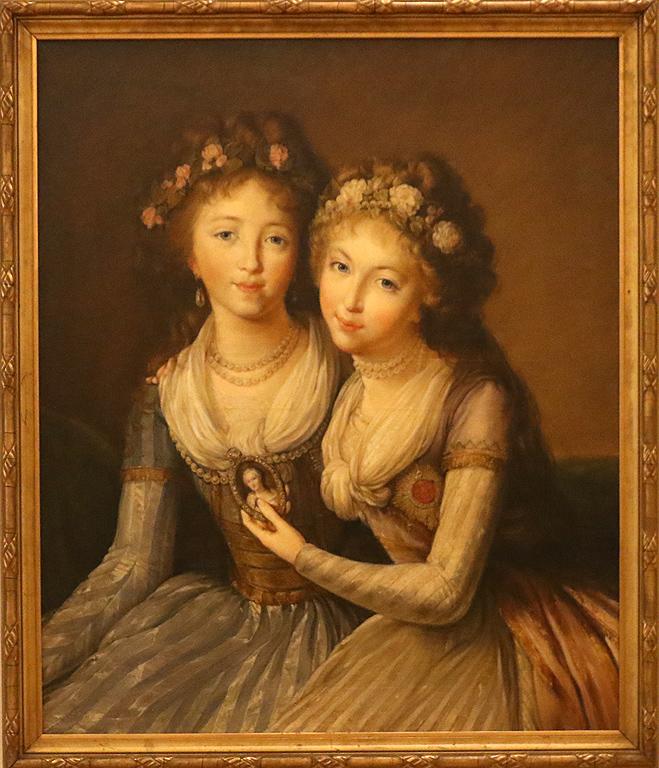 Николай Синцов Дъщерите на руския император Павел I Александра и Елена Павловни