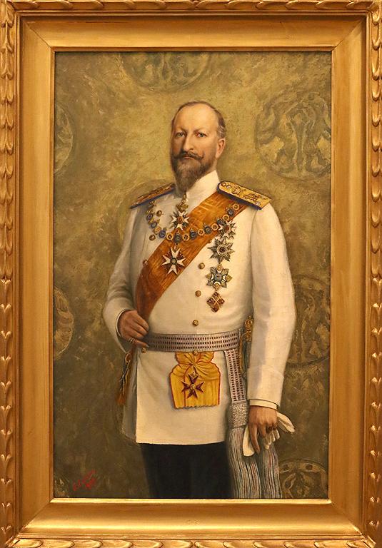 Георги Евстатиев<br /> Портрет на цар Фердинанд 1909г.