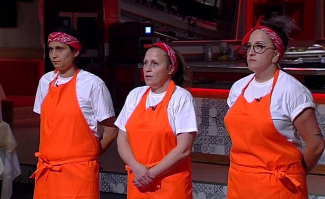 75% от жените, заплашени от изгонване от Hell's Kitchen
