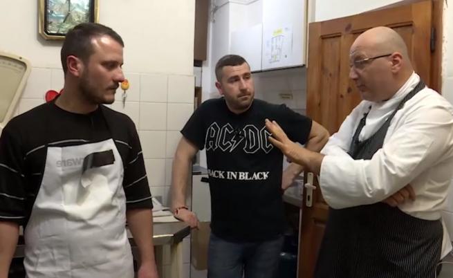 """Главен готвач се опитва да избяга в новия епизод на """"Кошмари в кухнята"""""""