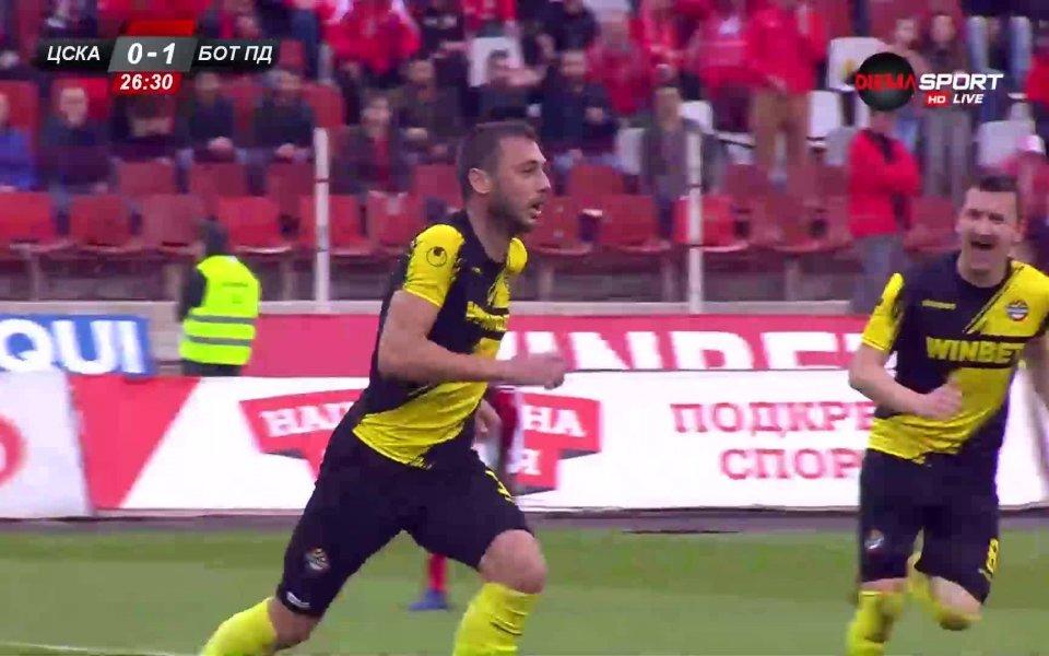 Балтанов също порази ЦСКА