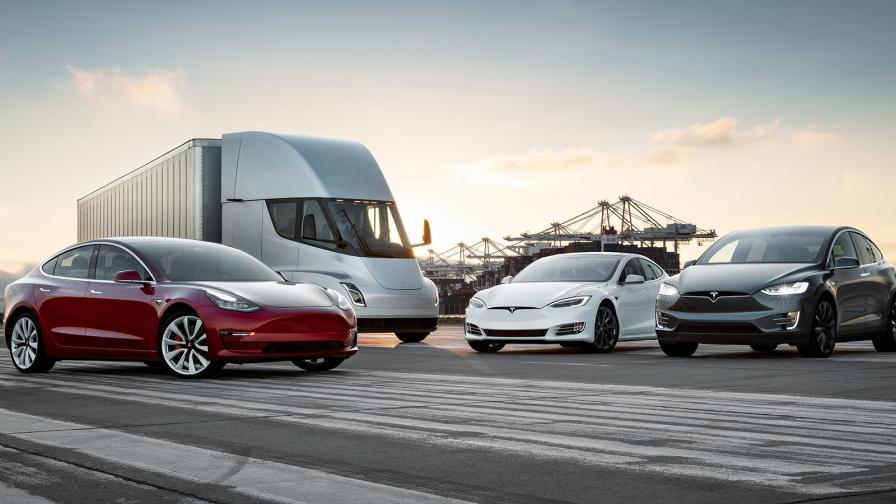 Рекордни доставки от Tesla, но и загуба в размер на $407 млн.