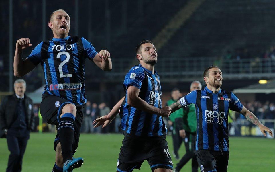Аталанта гони първo участие в Шампионска лига, Серия А остава с въпросителни