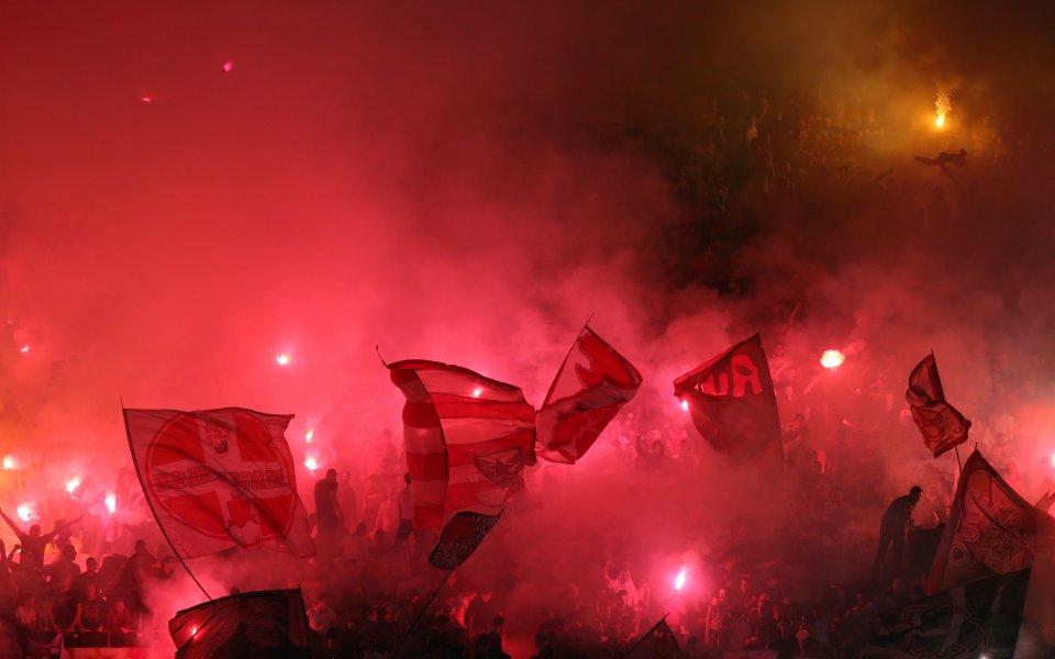 Звезда надви Партизан в голямото дерби на Сърбия