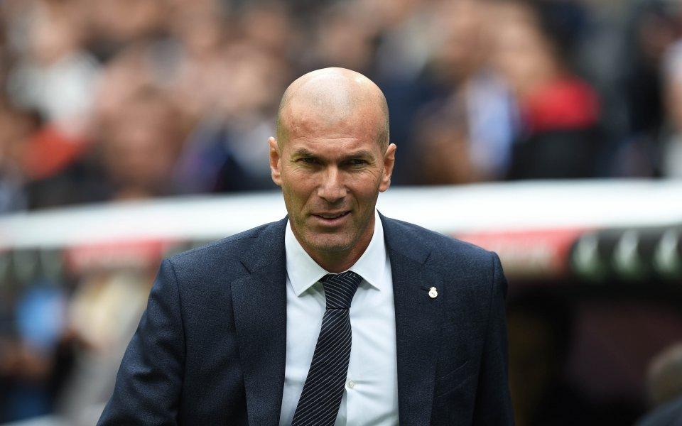 Зидан заяви, че Реал е заслужавал да победи