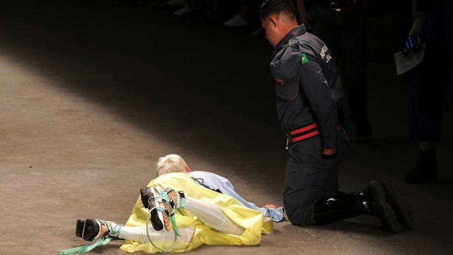 Бразилски модел почина по време на дефиле