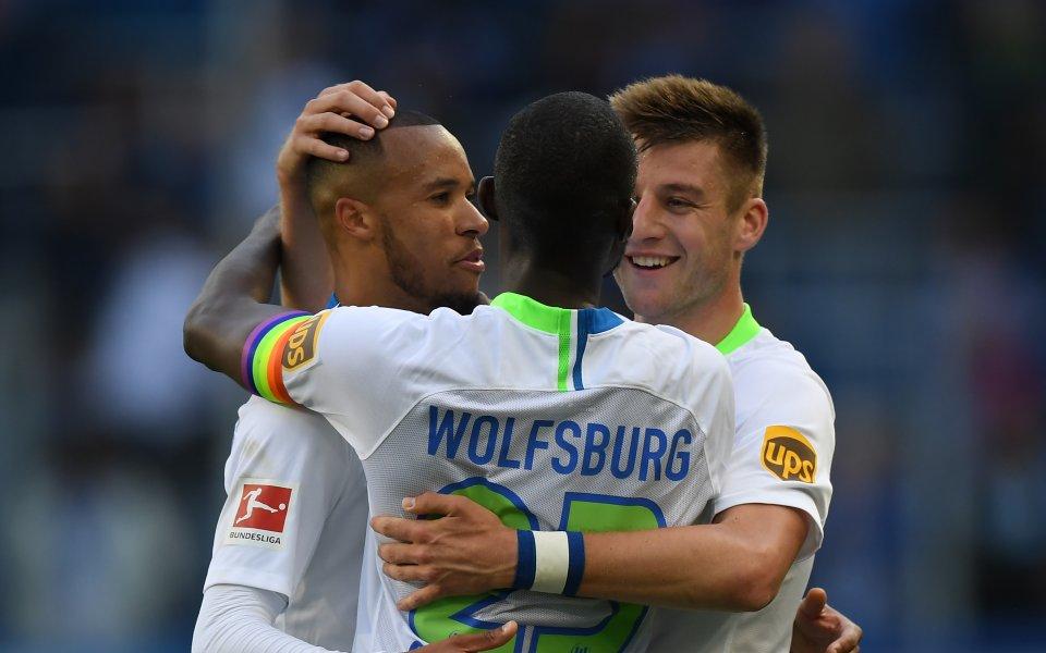 Фортуна Дюселдорф и Волфсбург не се победиха в първия мач