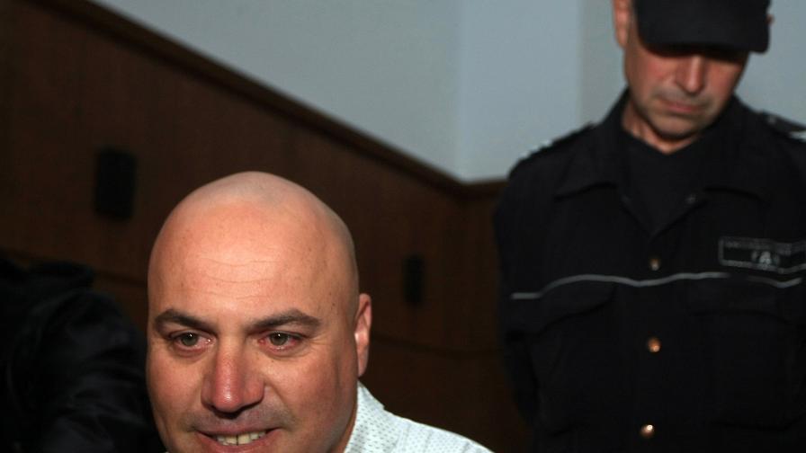 Стефан Стефанов, осъден за опит за въоръжен грабеж и взимане на заложници в банка в Сливен