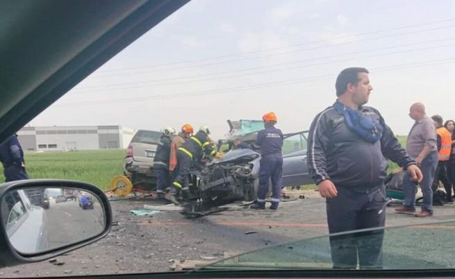 Тежка катастрофа с две жертви до Пловдив