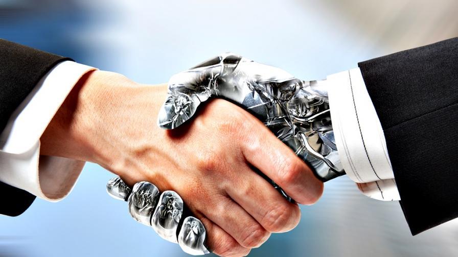 <p>Ще си <strong>сътрудничим</strong> ли <strong>с роботите</strong>?</p>