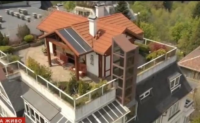 На покрив в