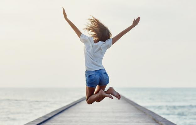 Оптимистка, търсеща винаги веселие