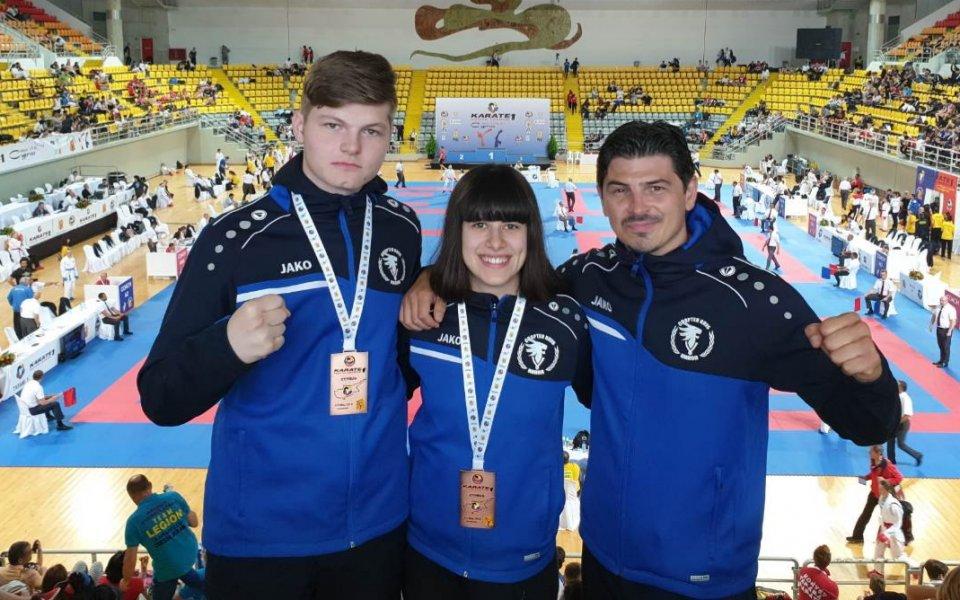 Два медала за българското карате на Световна лига в Лимасол