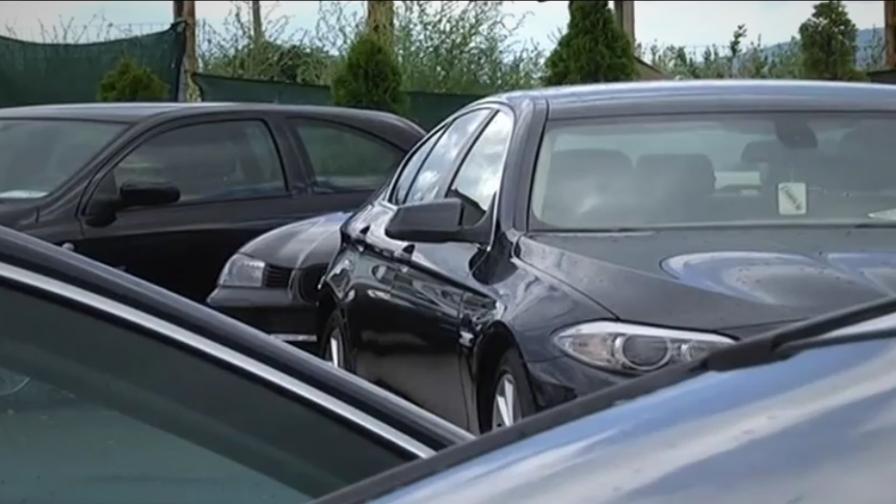 <p>Срив в продажбите на употребявани автомобили</p>