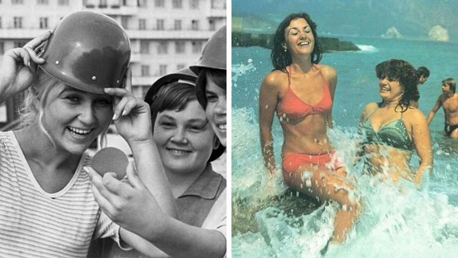 Как изглеждаха жените в СССР (СНИМКИ)