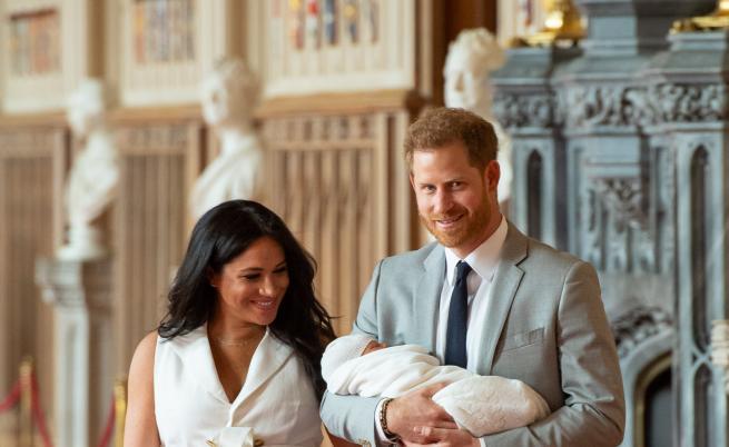 Меган Маркъл и принц Хари разкриха името на бебето