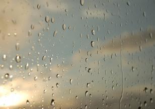 Облаци и дъжд в неделя