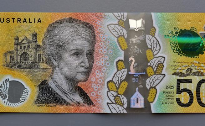 Правописна грешка на 46 млн. от новите банкноти в Австралия