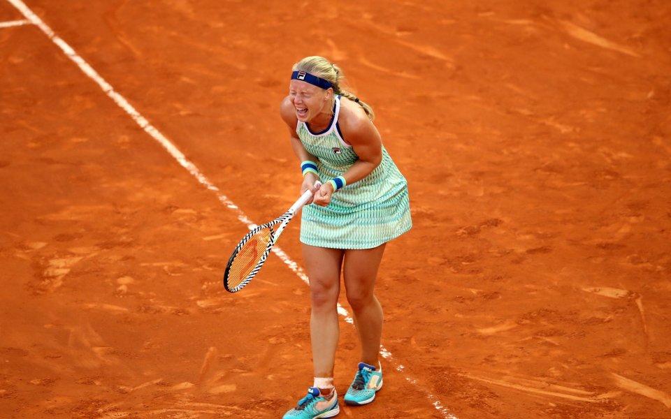 Кики Бертенс стигна до титлата на силния турнир в Мадрид.