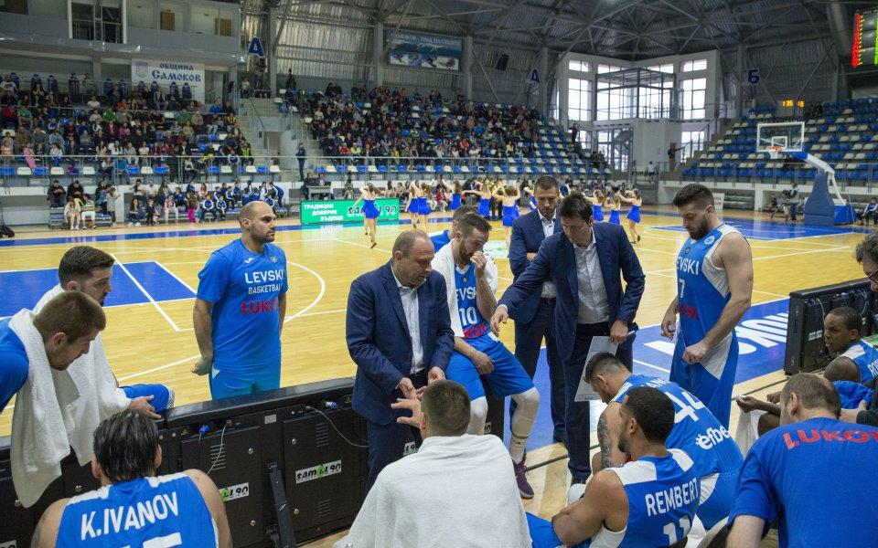 Шампионът Левски Лукойл се класира за финала на Националната баскетболна
