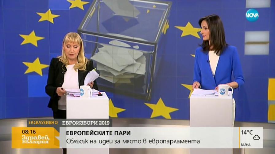 <p>Челен сблъсък в ефир:&nbsp;Елена Йончева - Мария Габриел</p>