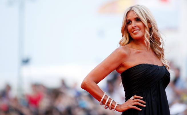 Италианска звезда с рокля на българска дизайнерка