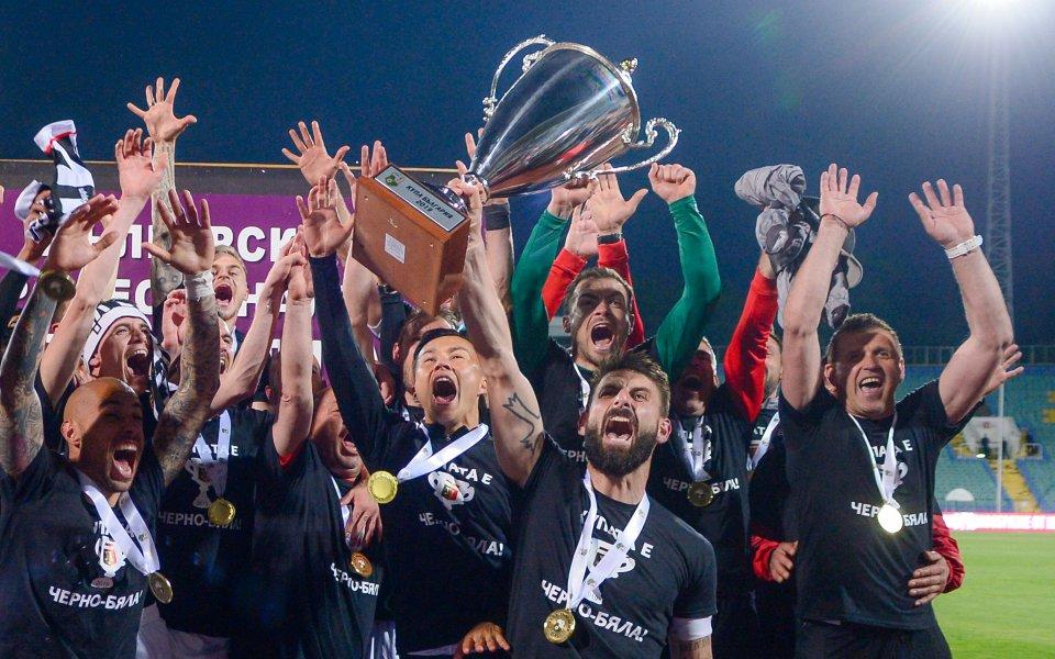 Ръководството на ЦСКА честити спечелената от Локомотив Пловдив Купа на