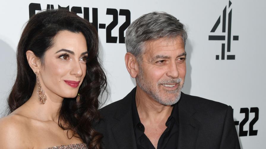 Джордж Клуни и Амал Клуни