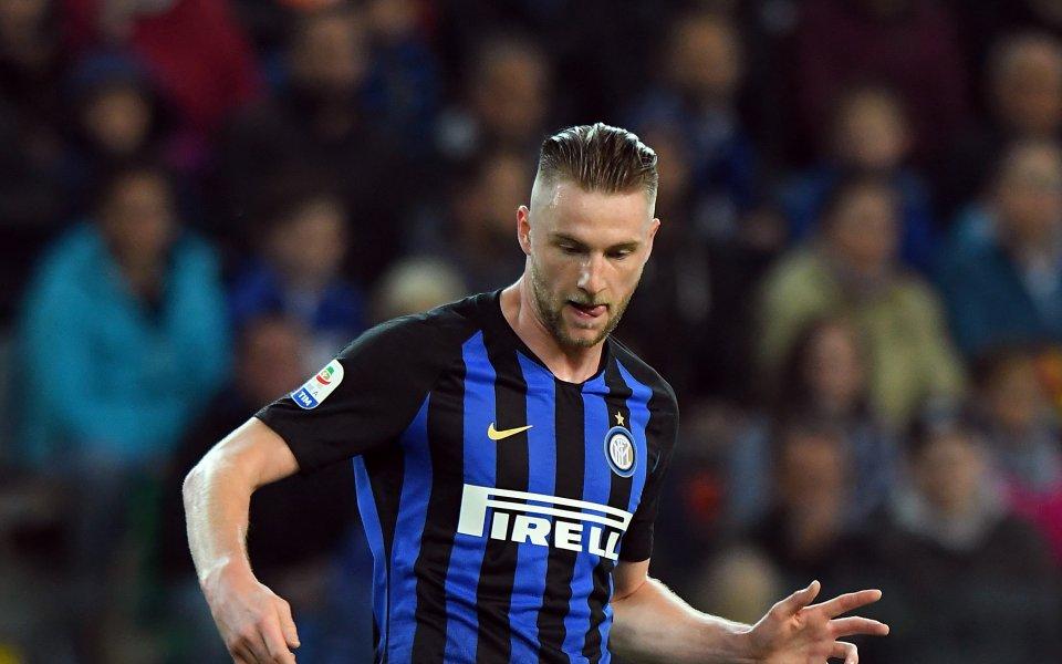Централният защитник на Интер Милан Шкриниар официално поднови споразумението си