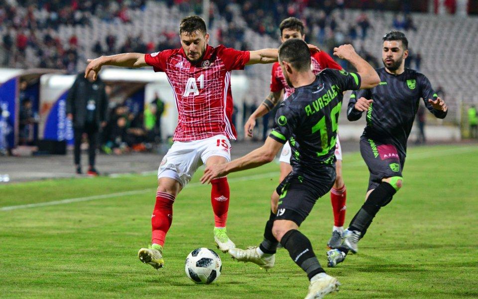 Отборът на Берое приема ЦСКА в мач от 34-ия кръг