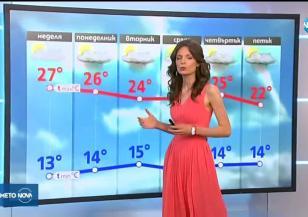 Прогноза за времето (19.05.2019 - обедна емисия)