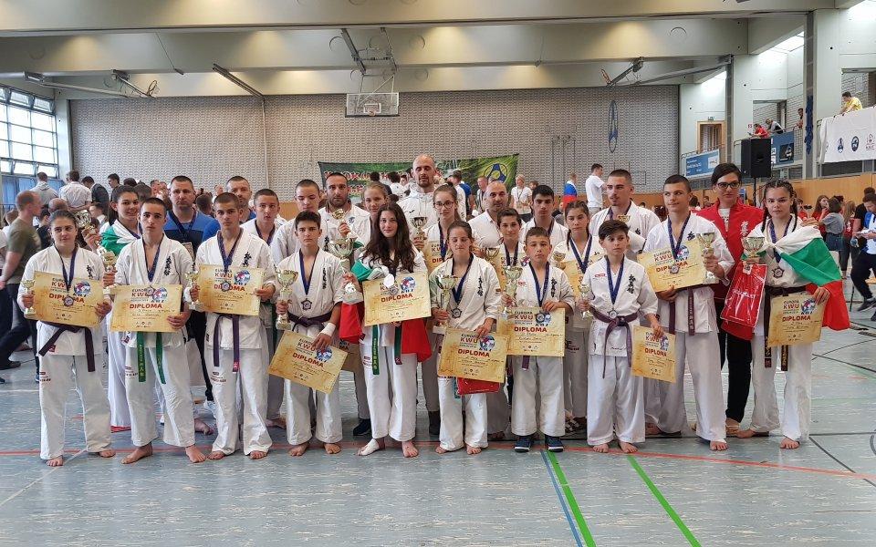 За пореден път каратеките от Българската карате киокушин федерация представиха