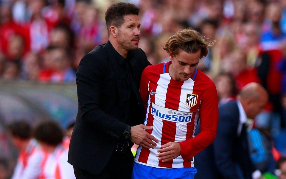 Старши треньорът на Атлетико Мадрид Диего Симеоне заяви, че е