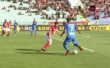 Левски - ЦСКА 0:0 /първо полувреме/