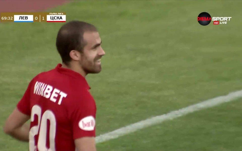 Футболистът на ЦСКА Тиаго Родригес спечели приза за Играч на