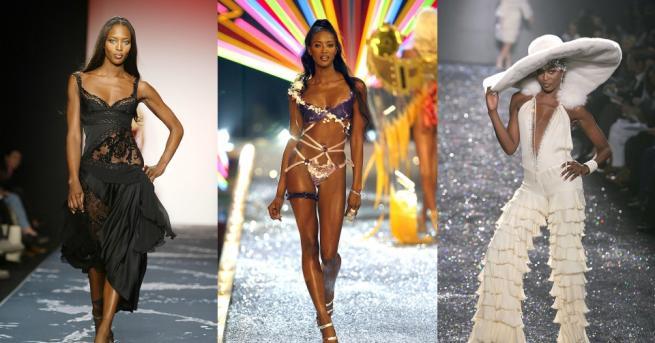 Черната перла в модната индустрия, Наоми Кембъл, празнува своя 49-ти