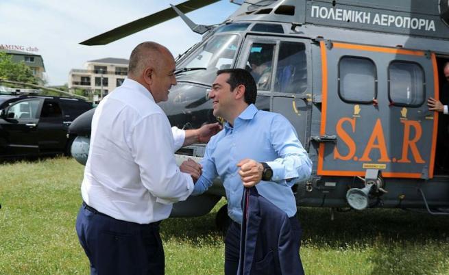 Борисов към Ципрас: Днес е исторически ден (видео)