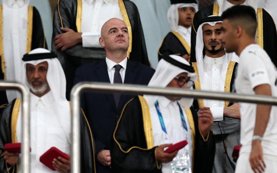 ФИФА с изявление след решението за Катар